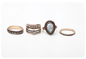 Ring Collection Stackable