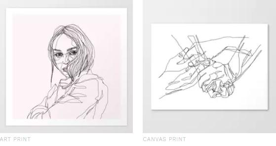 sophie schultz artist prints store society6