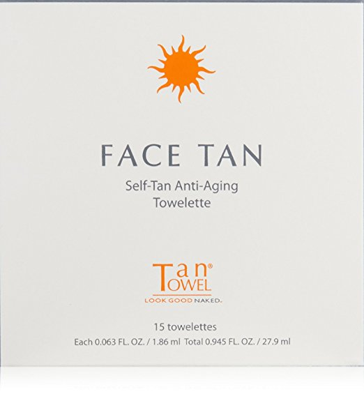 best self tanner facial face towel anti-aging towelette