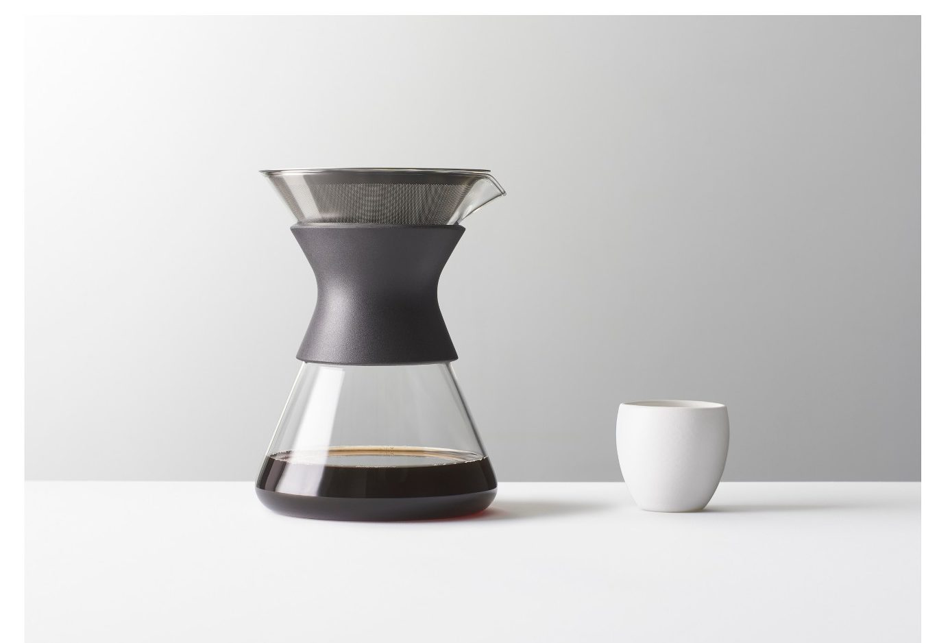made by design coffee maker glass pour over
