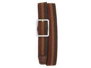Torino Tri Stripe Reversible Woven Belt