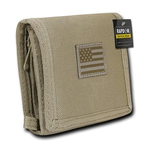 USA US American Flag Tactical Patriotic Military Trifold Wallet Money Holder