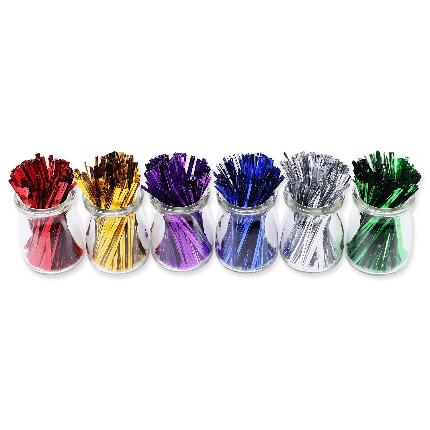 twist ties best reviewed unique colorful fasteners metallic sago brothers