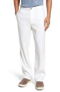 White Linen Pants Men's