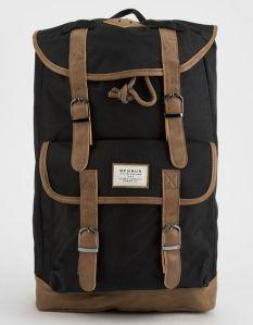 Vintage Backpack Black