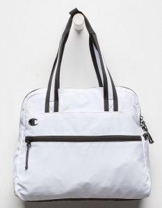 White Tote Bag Champion