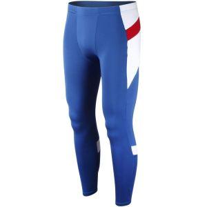Blue Compression Pants Men's