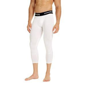 White Men's Workout Tights