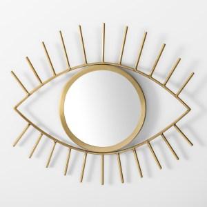 wall decor eye mirror