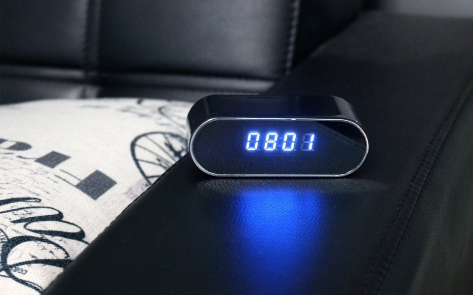 hidden camera clock amazon