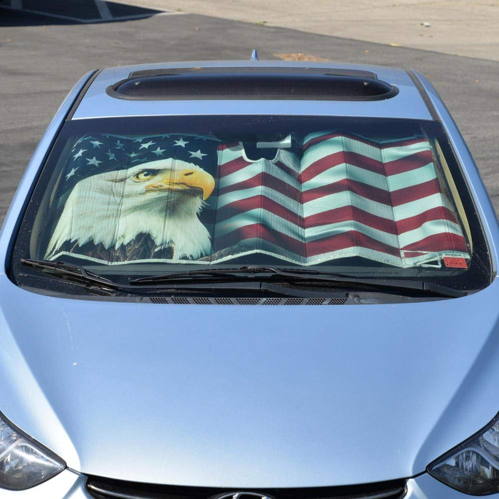 bald eagle sun visor
