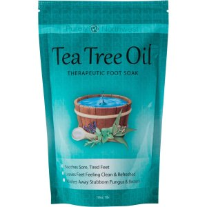 Foot Soak Epsom Salt Tea Tree Oil