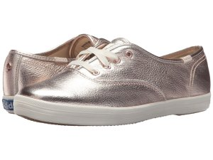 Metallic Gold Sneakers kate spade