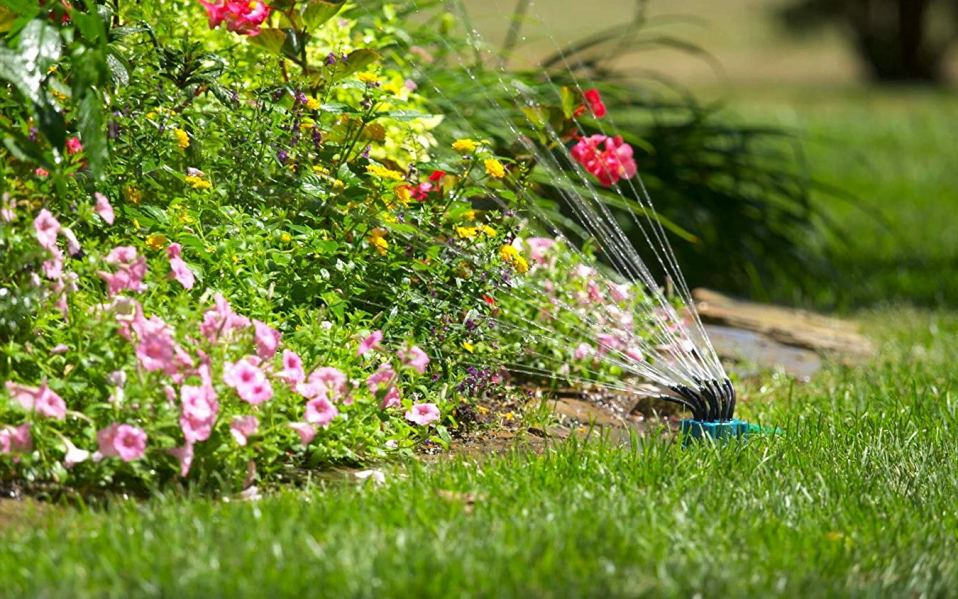 save money watering lawn
