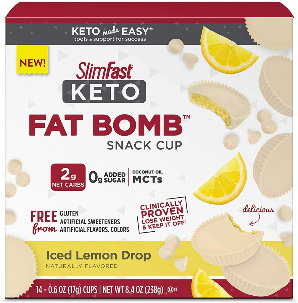 SlimFast Keto Fat Bomb Snack Cup