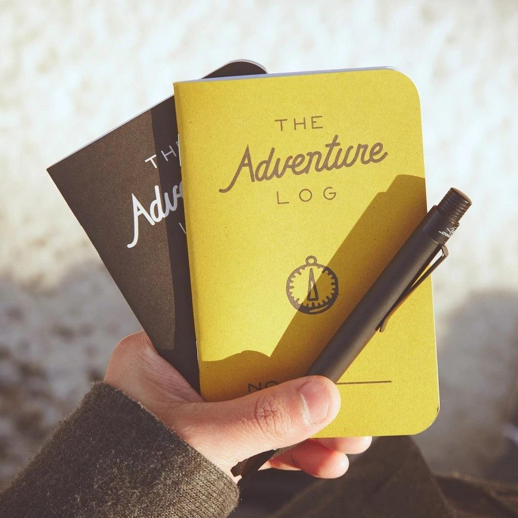 Get Lost Adventure Log 3-Pack