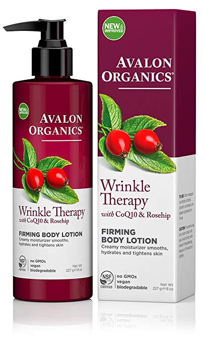 avalon organics wrinkle therapy body lotion firming