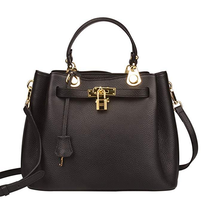 work bags women handbags office happy hour padlock ainifeel