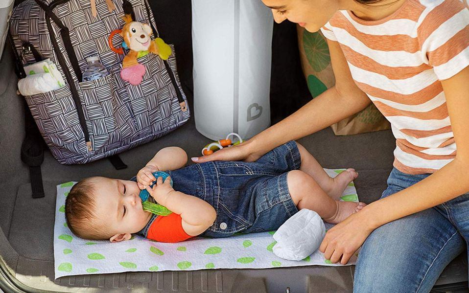 best diaper pails, diaper genie alternatives
