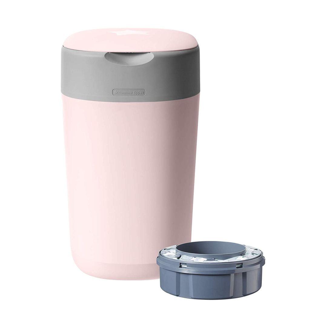 tommee tippee diaper pail advanced, best diaper pail, diaper genie alternative