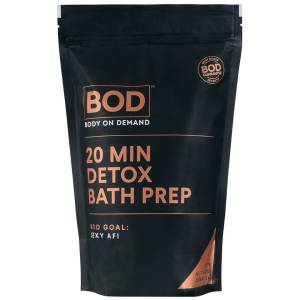 BOD 20 Min Detox Charcoal Bath Salt