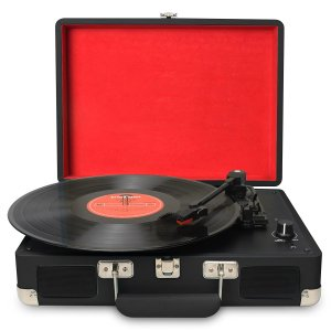 DIGITNOW Turntable record player 3speeds
