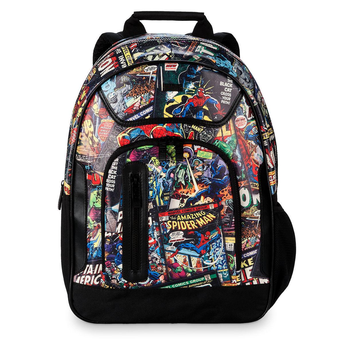 back to school supplies best disney merchandise marvel comics backpack