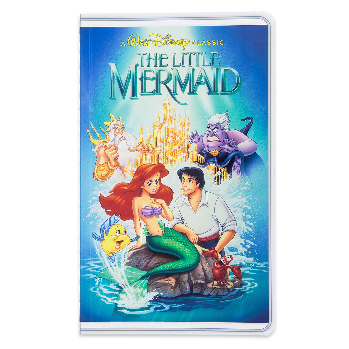 back to school supplies best disney merchandise the little mermaid journal vhs case