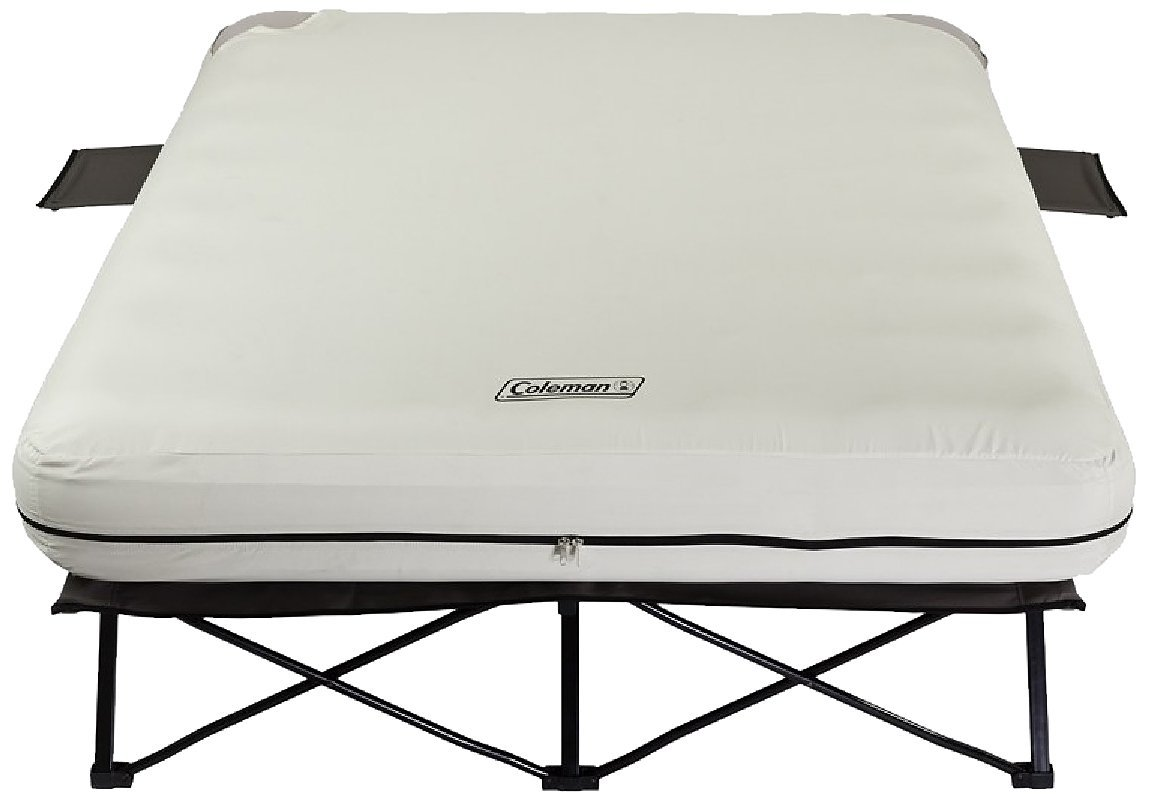 coleman queen folding airbed cot