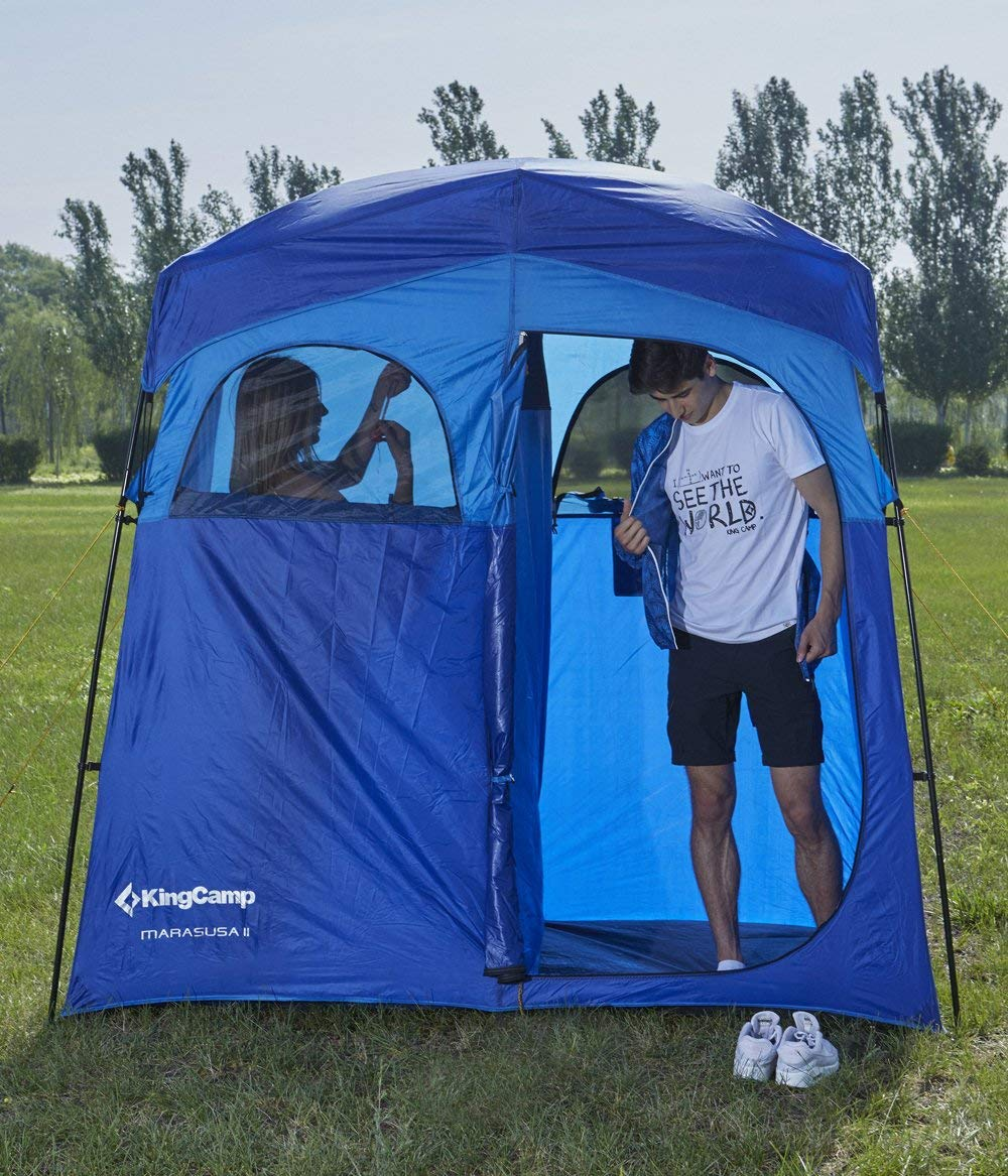 changing room portable 2-room