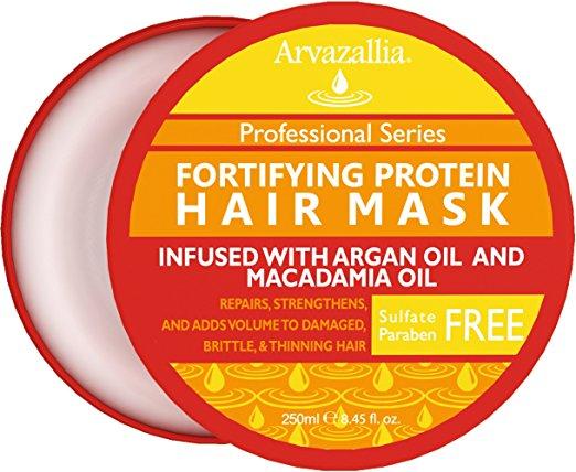 fortifying protein hair mask arvazallia