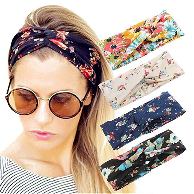 bad haircut how to hide headbands 4 pack boho floral style elacucos
