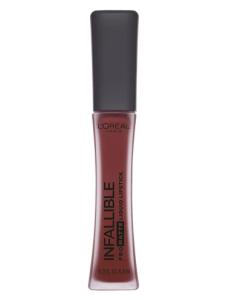 loreal infallible lipstick