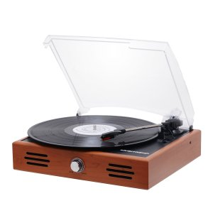 Musitrend Mini Stereo Turntable 3 Speed