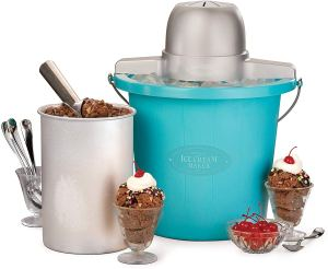 best ice cream maker nostalgia electric