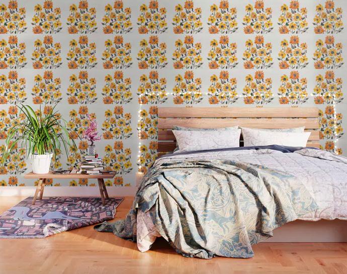 best removable wallpaper decor ideas