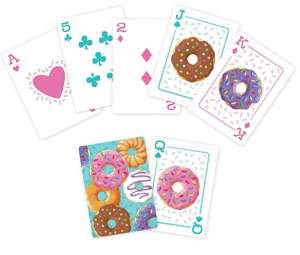 Funny Playing Cards Donuts