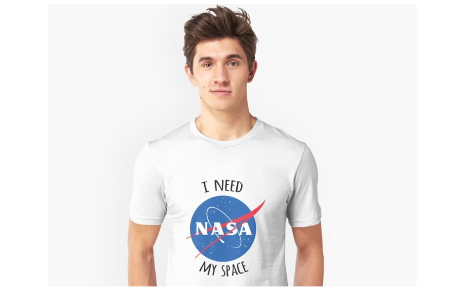 best space t-shirts redbubble