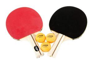 STIGA Performance 4-Player Table Tennis Racket Set