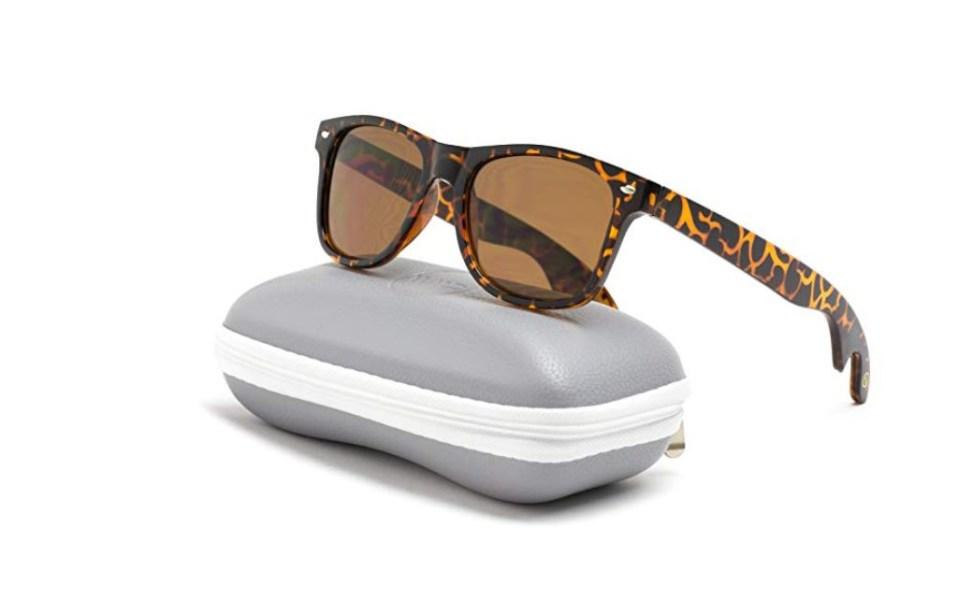 sunglasses bottle