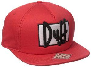 The Simpsons Duff Beer Duffman Adjustable Hat Cap