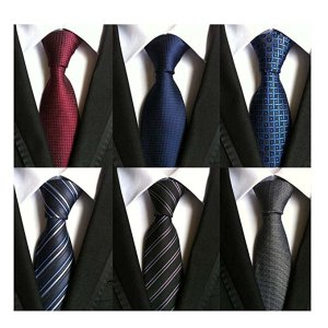 WeiShang Lot 6 PCS Classic Men's Tie