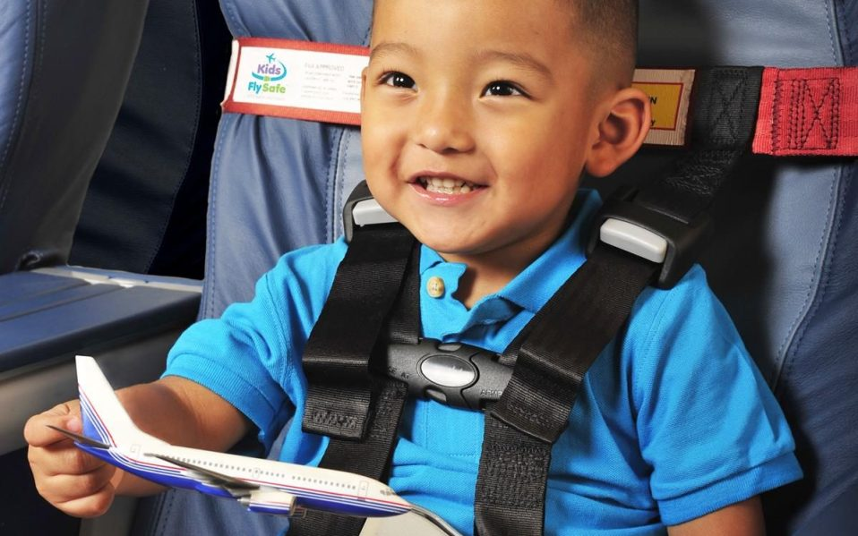 child harness safety restraint airplane seat