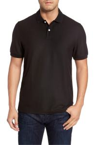 Black Polo Shirt Men's