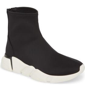 Black Sock Sneaker Women's