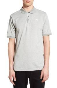 Grey Polo Shirt Nike