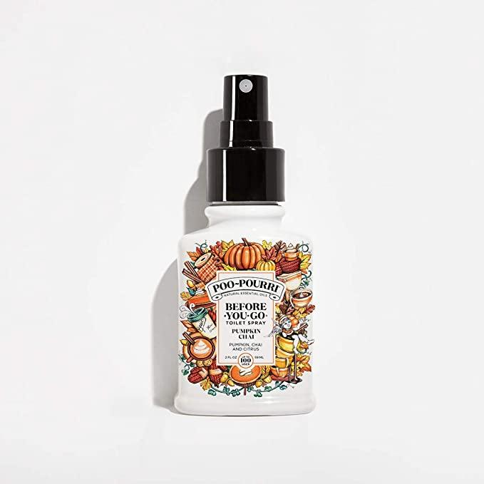 pumpkin spice bathroom spray