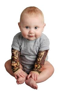 Tattoo Bodysuit Baby Tottude