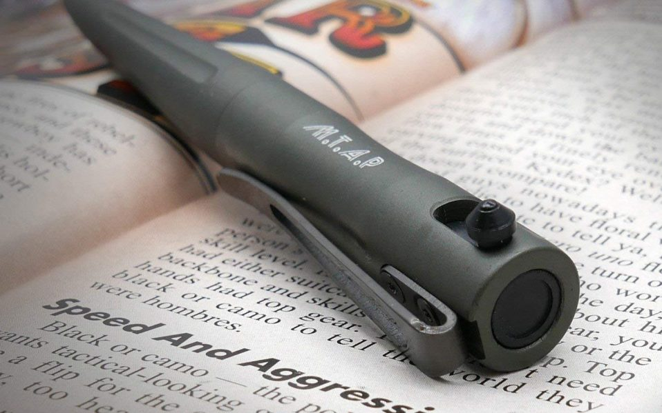 The Best Tactical Pens Carry One Of These Bolt Action Pens For Safety Spy