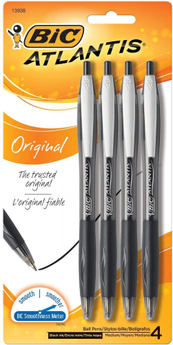 bic retractable pens, Best Pens For Writers
